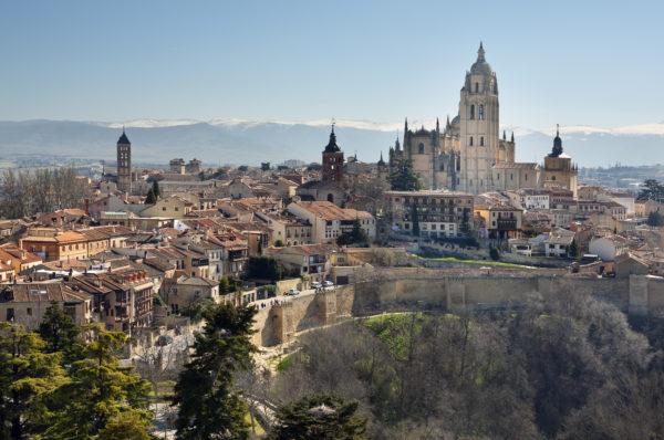 Ciudad de Segovia, Castilla y Leon