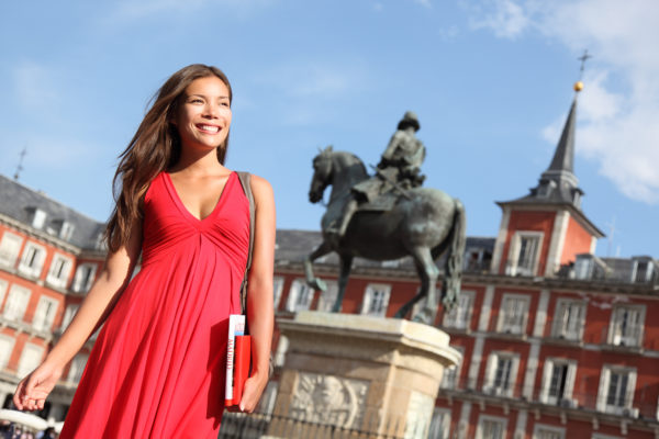 Visitando Madrid