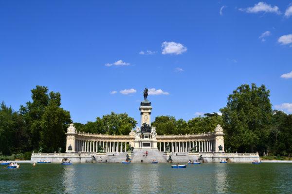 Tour en bici, Parque de El Retiro en Madrid