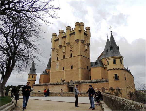 Alcazar de Segovia