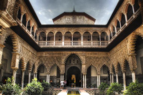 Patio de las doncellas. Sevilla